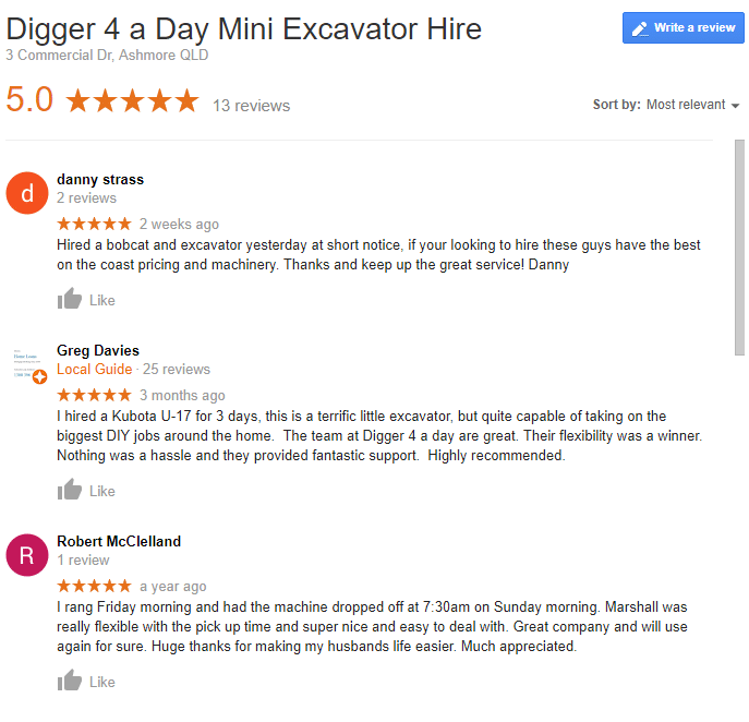 Reviews Digger 4 a Day